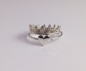ring and heart ring image