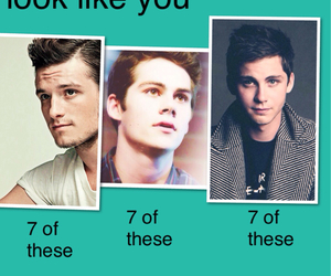 logan lerman, josh hutcherson, and dylan o' brien image