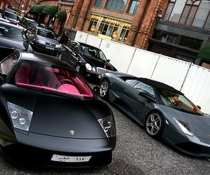 black, cars, and dark image