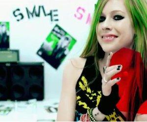 Avril Lavigne, smile, and heart image