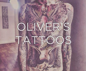 tattoo, bring me the horizon, and oliver sykes image