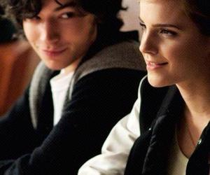emma watson, ezra miller, and movie image
