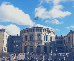 norway and parliament image