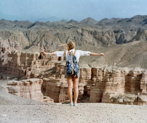 free, girl, and travel image