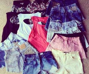 fashion, shorts, and clothes image