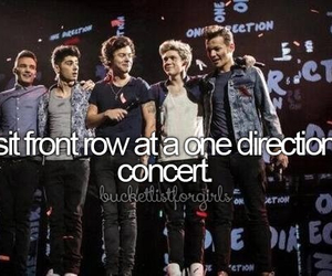 one direction, concert, and before i die image
