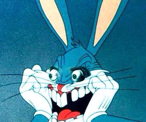 bugs bunny, bunny, and crazy image