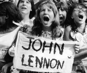 john lennon, fan, and the beatles image