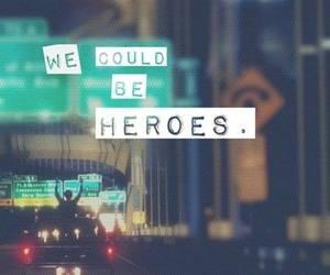 hero, quotes, and Lyrics image