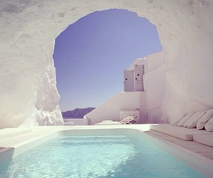 beautiful, relax, and santorini image
