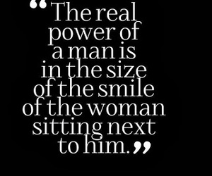 quotes, smile, and man image