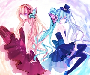 vocaloid, hatsune miku, and magnet image