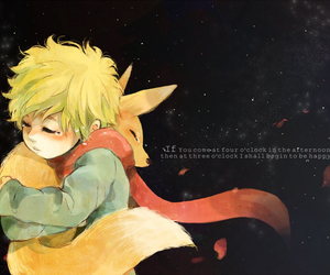 fox, the little prince, and little prince image