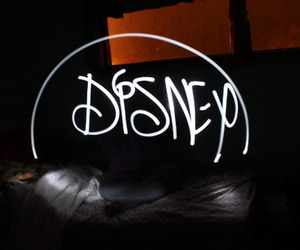 disney, light, and photography image
