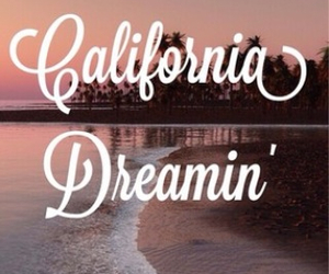 summer, beautiful, and california image