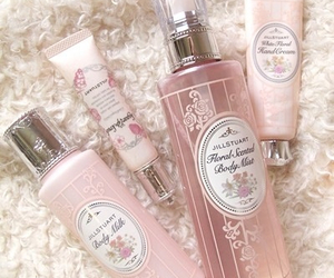 pink, girly, and cosmetics image