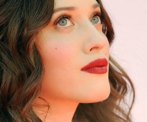 actress, Kat Dennings, and red lips image
