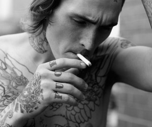 tattoo, bradley soileau, and black and white image
