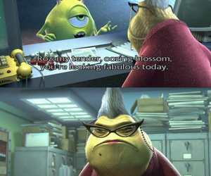 disney, monsters inc, and quote image