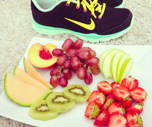 fruit, nike, and healthy image