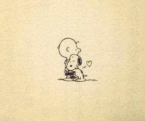 snoopy, love, and charlie brown image