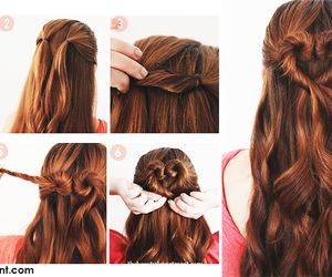 <3, hair, and cute image
