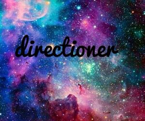 one direction, galaxy, and directioner image