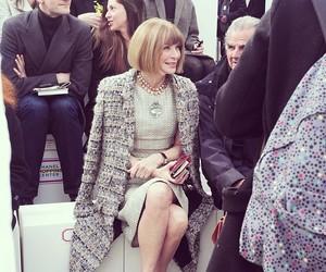 Anna Wintour, beauty, and fashion image
