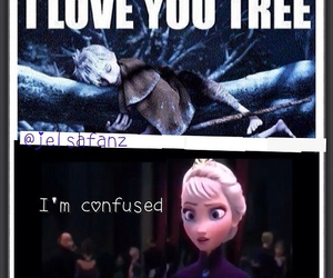confused, frozen, and funny image