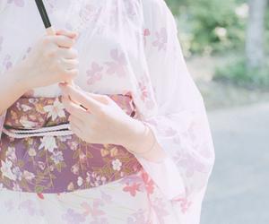japan, kimono, and pink image