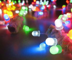 colorful, colorful lights, and lights image