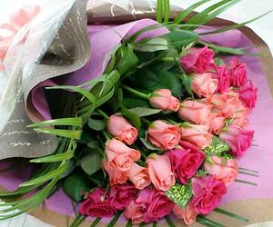 beautiful, beauty, and bouquet image