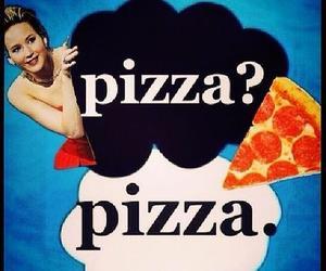 pizza, Jennifer Lawrence, and tfios image