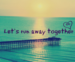 love, together, and run image