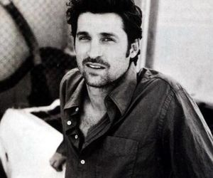 patrick dempsey, black and white, and grey's anatomy image