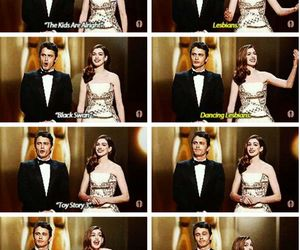 Anne Hathaway, awards, and funny image