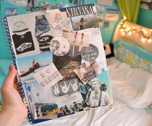 tumblr, notebook, and room image
