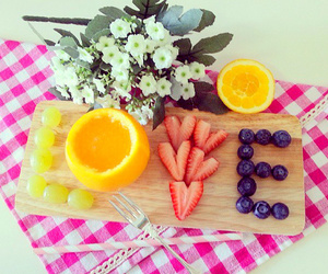 fruit, love, and food image