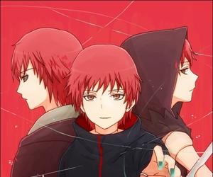 sasori, akatsuki, and naruto image
