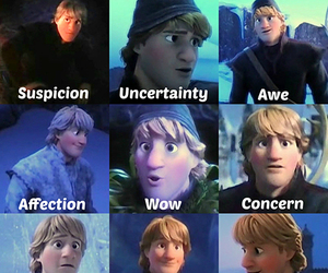 frozen, cute, and kristoff image