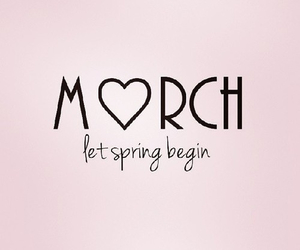 spring and march image