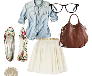 cute, outfit, and clothes image
