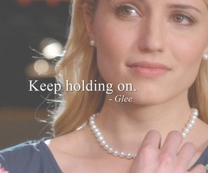 glee, quote, and dianna agron image