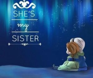 sisters, anna, and disney image