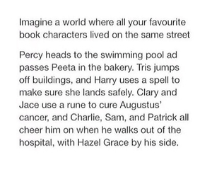 harry potter, tpobaw, and the mortal instruments image