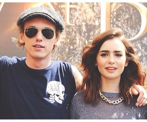 jace, city of bones, and lily collins image