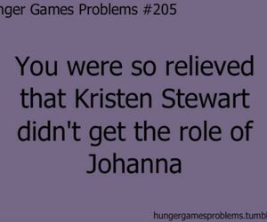 funny, kristen stewart, and hunger games image