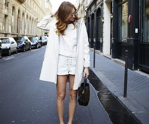 fashion, white, and street image