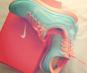 nike, shoes, and run image