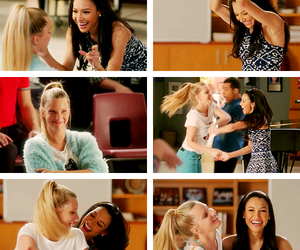 glee, otp, and naya rivera image